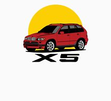 BMW X5 4.8is (E53) (red) Unisex T-Shirt