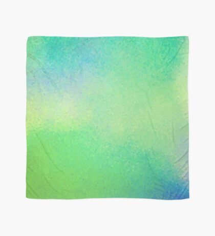 A18 - Abstract Glassy Greens Scarf