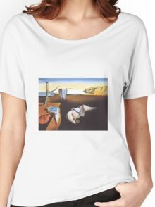 The Persistence of Memory by  Salvador Dali  Women's Relaxed Fit T-Shirt