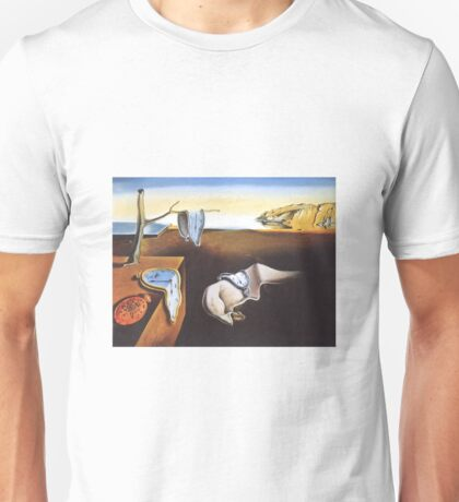 The Persistence of Memory by  Salvador Dali  Unisex T-Shirt