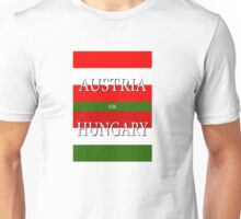 AUSTRIA or HUNGARY – UEFA Euro 2016 Unisex T-Shirt