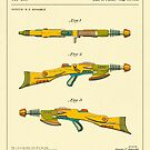 DISINTEGRATOR RIFLE (1953) by JazzberryBlue