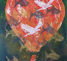 Flying Fish Fine Art Print by Heather Holland by Heatherian
