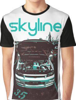 Nissan Skyline Graphic T-Shirt