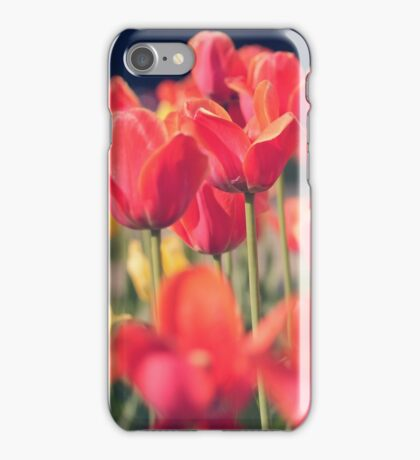 Red Tulips (Art Photo)  iPhone Case/Skin