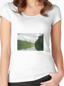 Lake Women's Fitted Scoop T-Shirt