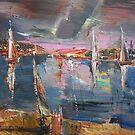 The Pink Bay by Stefano Popovski