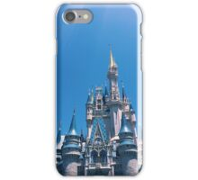 Blue Skies and Castle Views iPhone Case/Skin