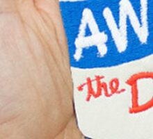 drink away the day Sticker