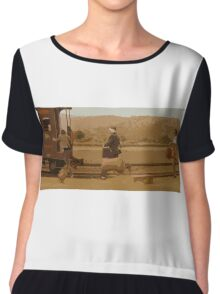 The Darjeeling Limited Thats our train Chiffon Top