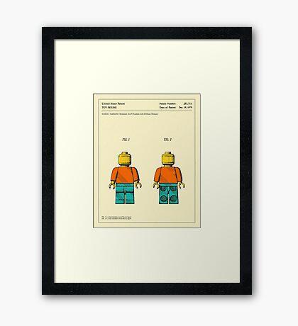 TOY FIGURE (1979) Framed Print