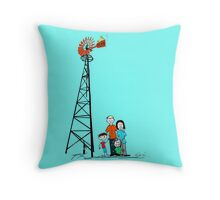 Just Add Wind Throw Pillow