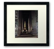 Paris - The City of Love Framed Print