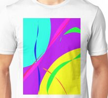 Bright Colors Abstract Design Unisex T-Shirt