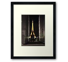 Mystery Parisian Lovers Framed Print