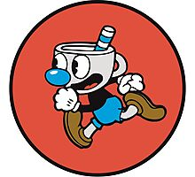 Mugman from Cuphead Photographic Print