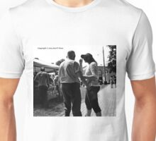 People in black and white Unisex T-Shirt