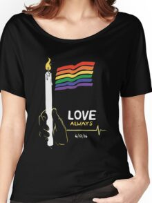 Love Always Women's Relaxed Fit T-Shirt