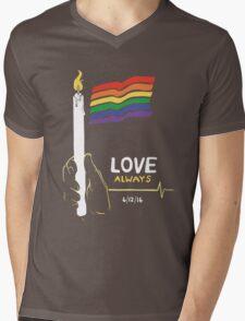 Love Always Mens V-Neck T-Shirt