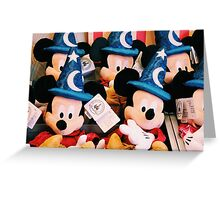 Sorcerer Mickey Greeting Card