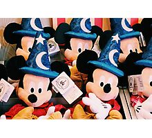 Sorcerer Mickey Photographic Print