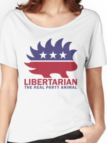 Gary Johnson - The Libertarian Party Animal Women's Relaxed Fit T-Shirt