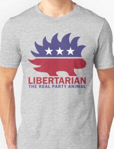 Gary Johnson - The Libertarian Party Animal Unisex T-Shirt