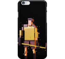 The Pixelized Hockey Player iPhone Case/Skin