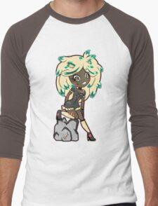 Lionetta by Lolita Tequila  Men's Baseball ¾ T-Shirt