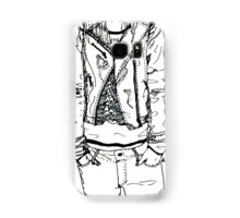 Girl in JD Tee Doodle Samsung Galaxy Case/Skin