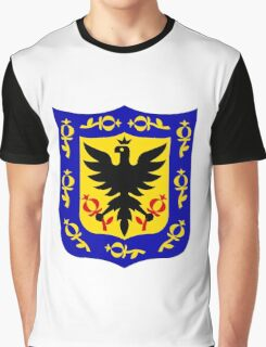 Coat of Arms of Bogotá Graphic T-Shirt