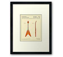 GUITAR (1958) Framed Print