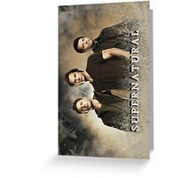Supernatural- Turned Horizontal Greeting Card