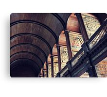 The Long Room Canvas Print
