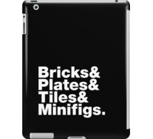 Brick Steez: Bricks&... (On Dark Colors) iPad Case/Skin