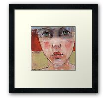 Catalina's face Framed Print