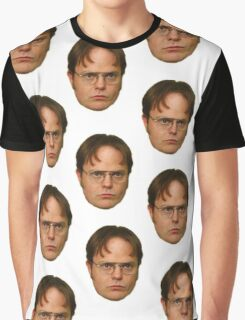 DWIGHT SCHRUTE DUPLICATE Graphic T-Shirt