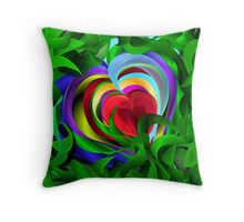 LoVe FloWer 2014 Throw Pillow