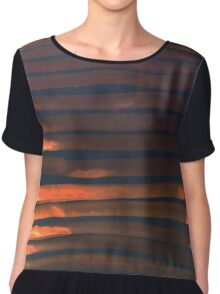 We Have Copper Dreams at Night Chiffon Top