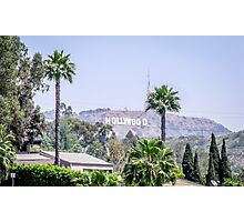 Hollywood Hights Photographic Print