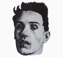 JAMES FRANCO DRAWING One Piece - Long Sleeve