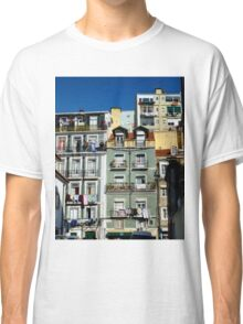 Everyday life in Lisbon Portugal Classic T-Shirt
