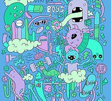 Boyz by Bizarria