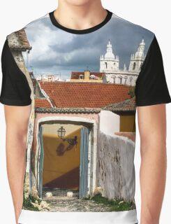 Igreja Sao Vacente De Fora Graphic T-Shirt