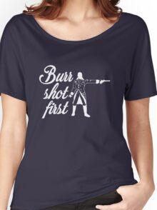 Burr Shot First Women's Relaxed Fit T-Shirt