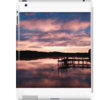 Sky turns the morning blue iPad Case/Skin