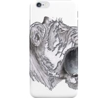 Cat lion big animal  iPhone Case/Skin