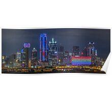 """Dallas """"Orlando Tribute"""" Skyline 2016 Poster"""