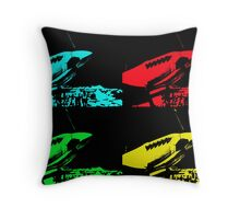 Pop Art Spitfire Throw Pillow