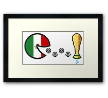 Mexico World Cup 2014 Framed Print